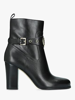 76cbdb0bdcd1a3 MICHAEL Michael Kors Heather Block Heel Ankle Boots