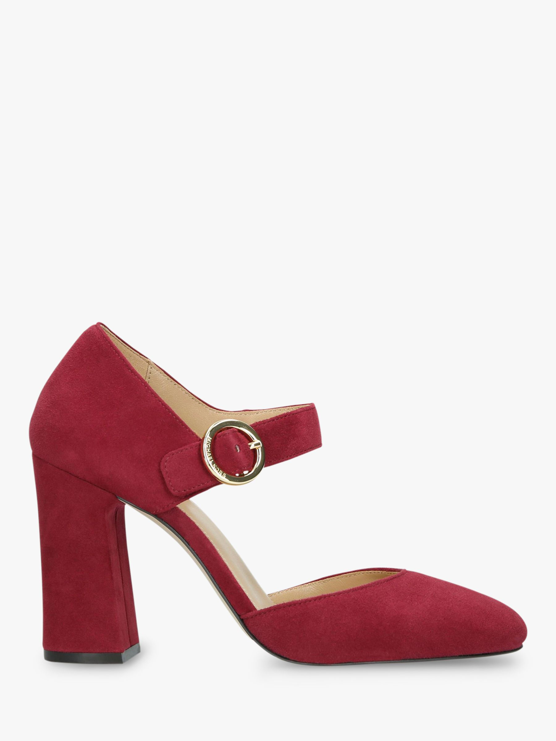 2adef124887d8 MICHAEL Michael Kors Alana Block Heel Mary Jane Court Shoes at John Lewis    Partners