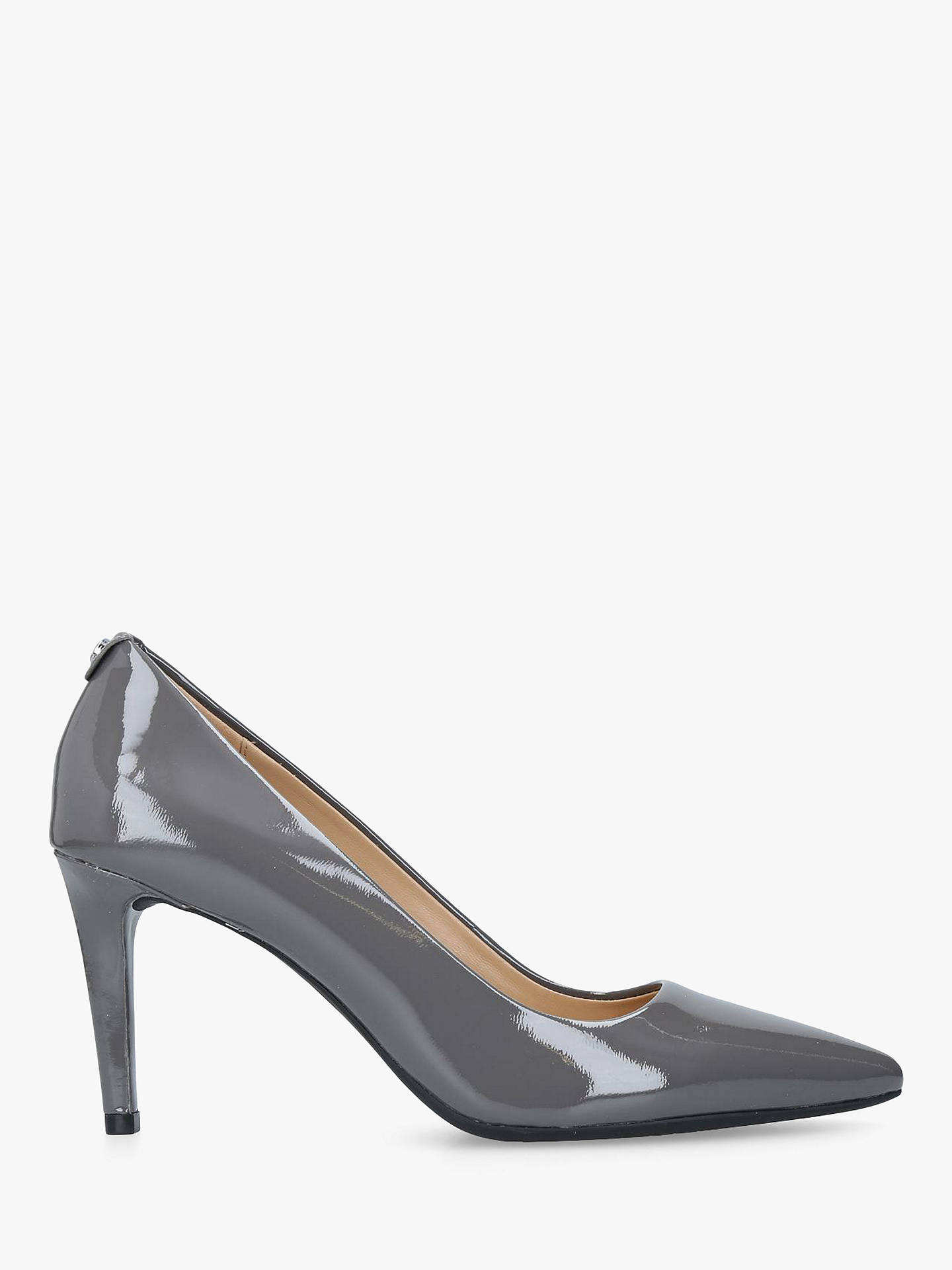 d2f3dcfbbe Buy MICHAEL Michael Kors Dorothy Flex Pointed Court Shoes, Grey Patent, 2  Online at ...