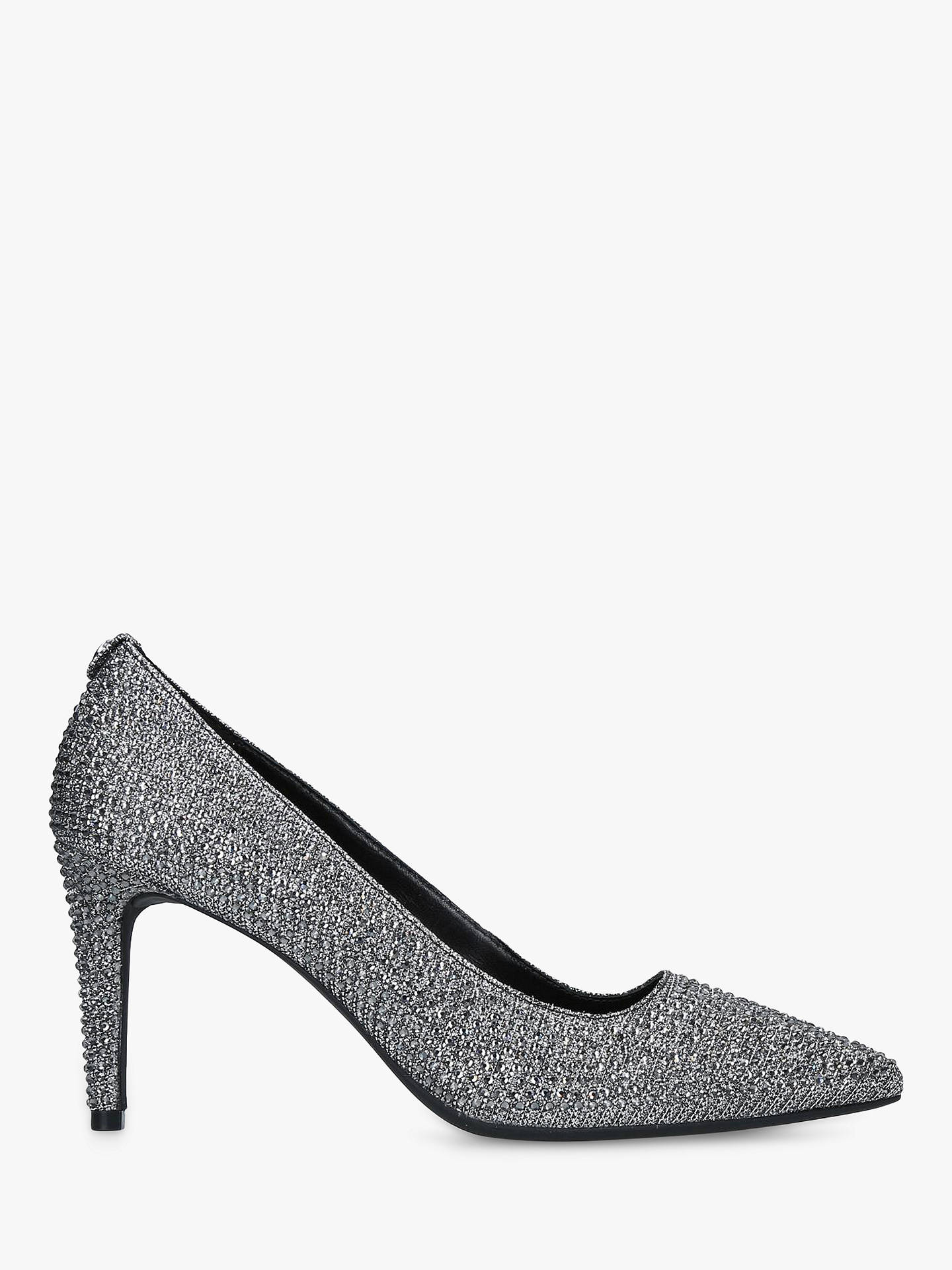 2e24c04281 Buy MICHAEL Michael Kors Dorothy Flex Pointed Court Shoes, Black Sparkle, 2  Online at ...