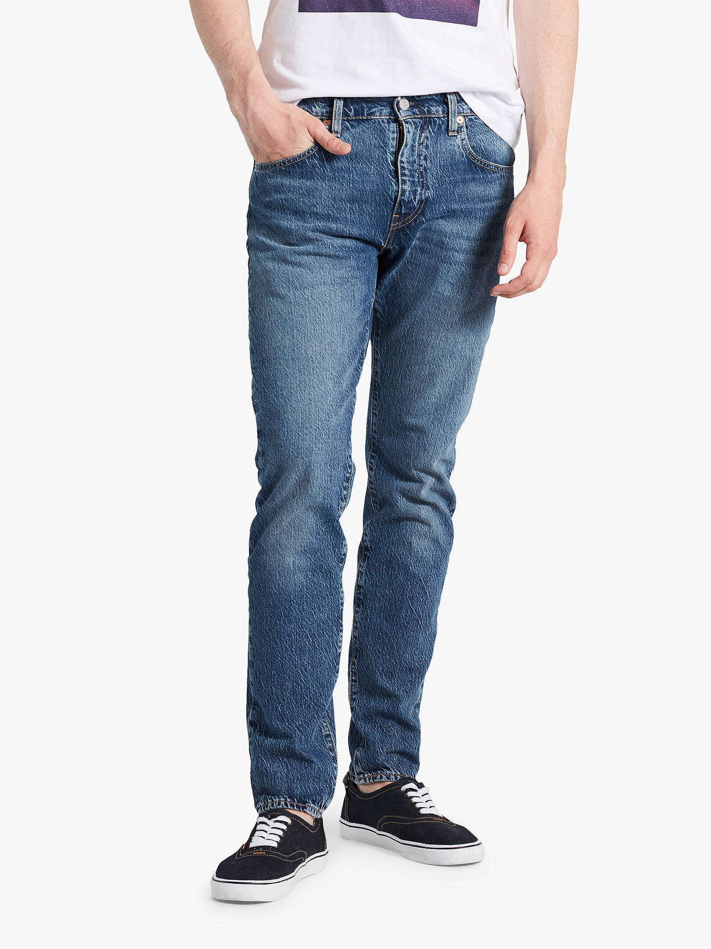 495e5cb86a6 Buy Levi's 512 Slim Tapered Jeans, Marcel Dark, 32R Online at johnlewis. ...