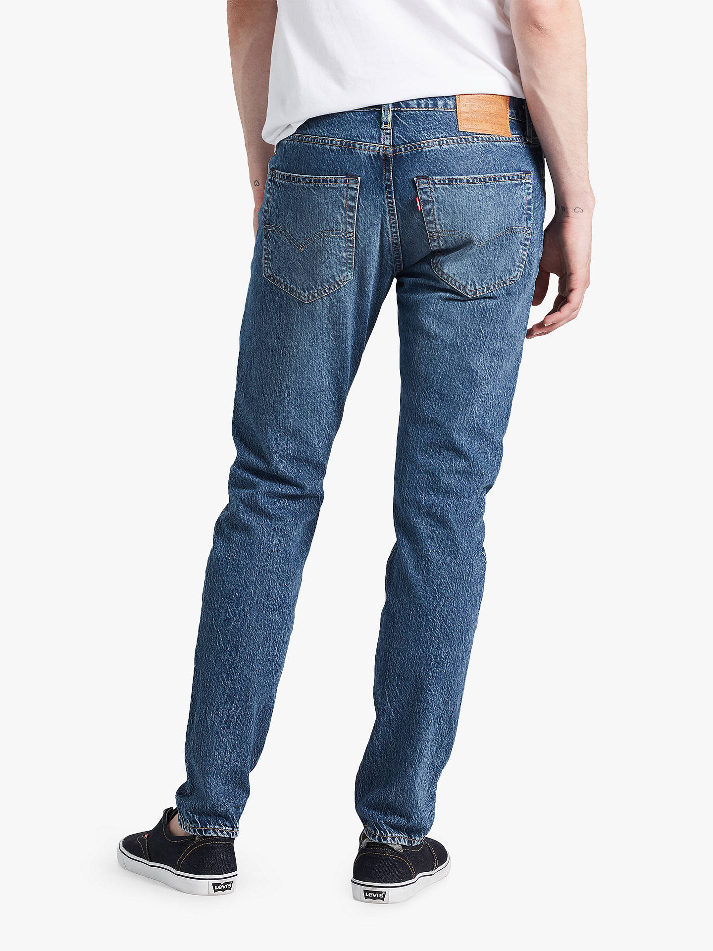 dc3dab6083b ... Buy Levi's 512 Slim Tapered Jeans, Marcel Dark, 32R Online at  johnlewis.com