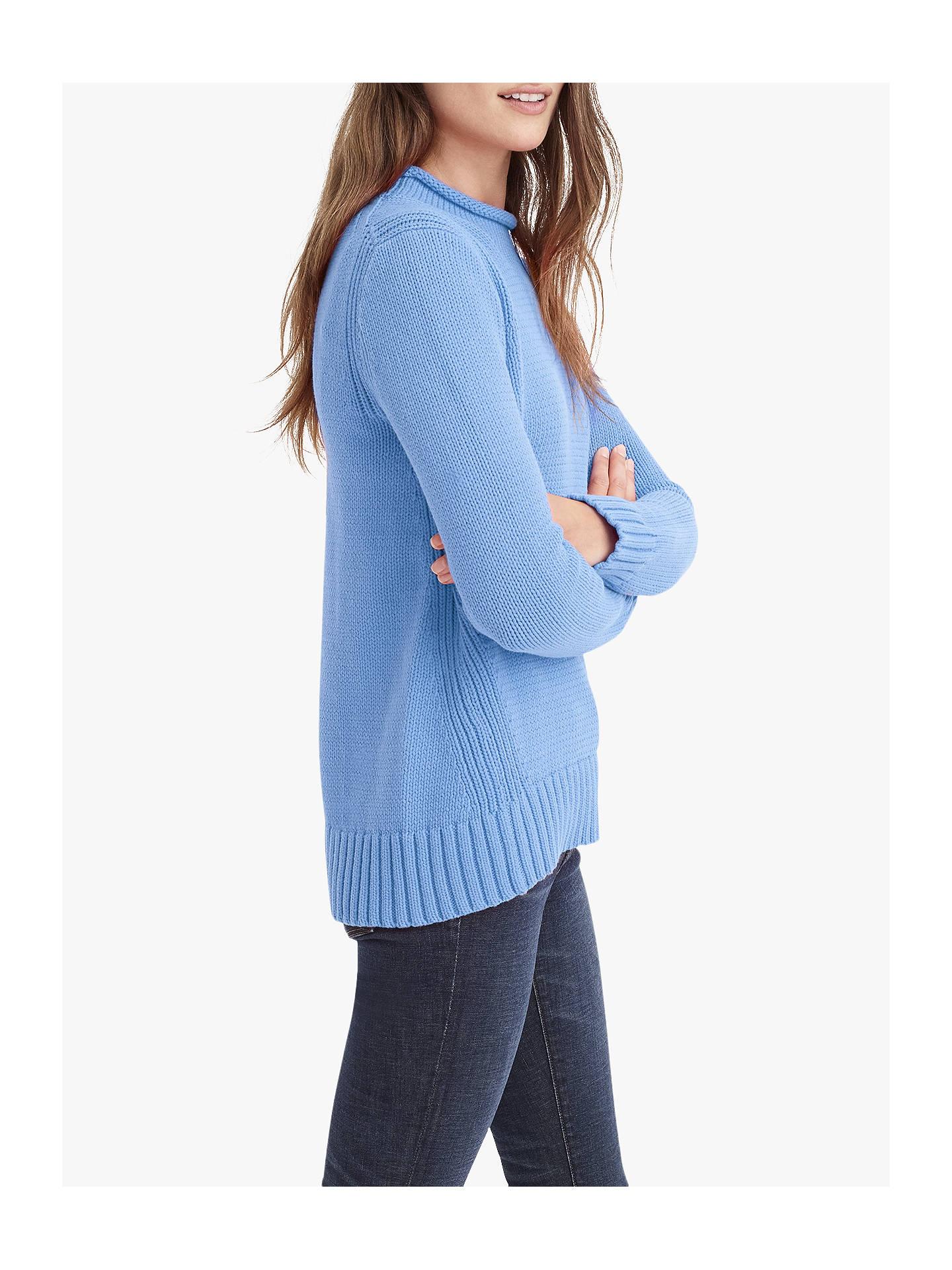 Jcrew 1988 Rollneck Sweater Mediterranean Coast
