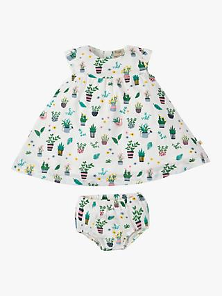 cccde97d805 Frugi Baby Dolly Organic Cotton Muslin Dress and Knickers Set