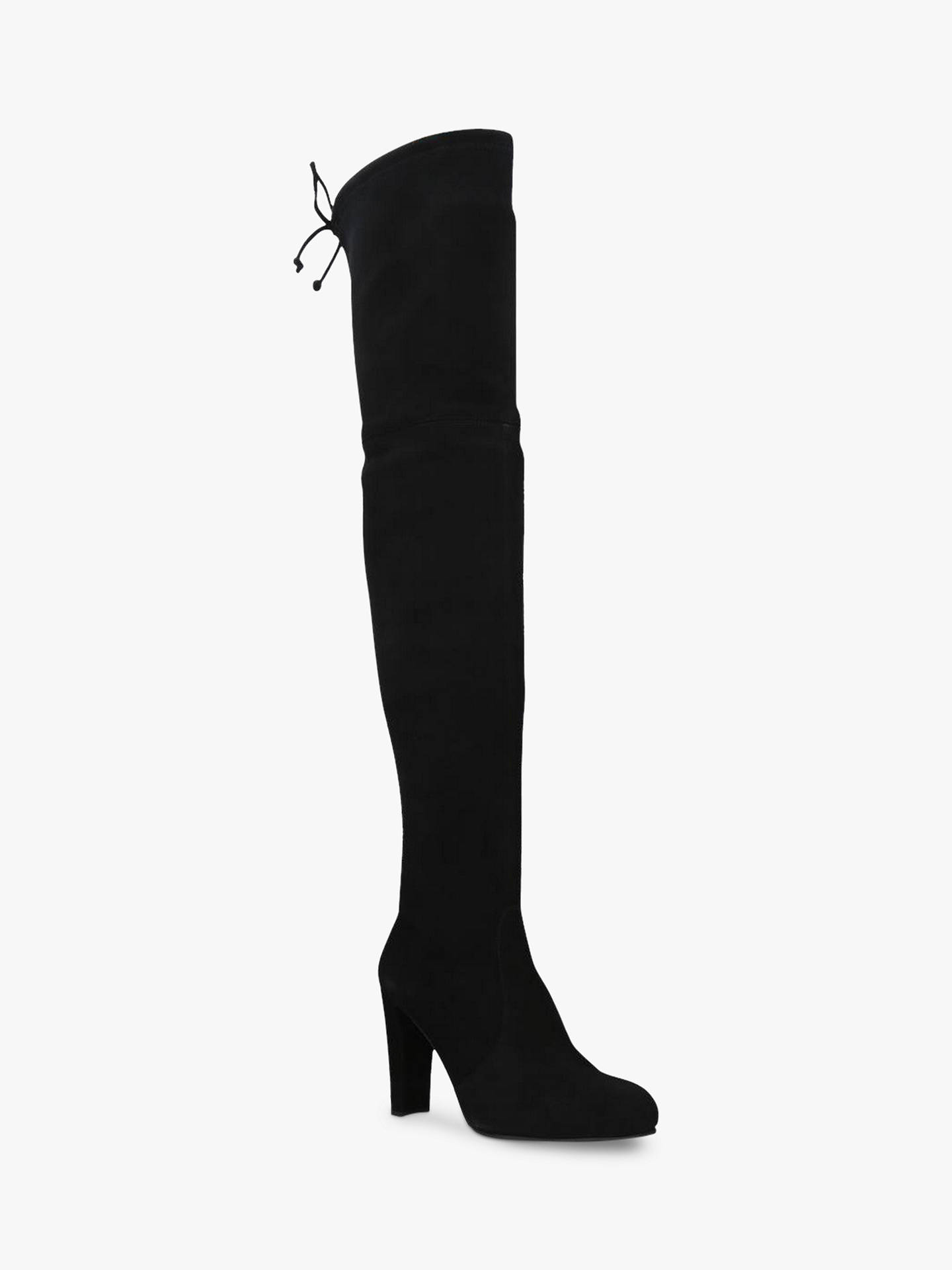 b6398b3289c Stuart Weitzman Highland Over the Knee Boots, Black Suede