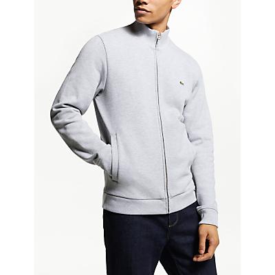 Lacoste Zip Through Sweatshirt, Grey