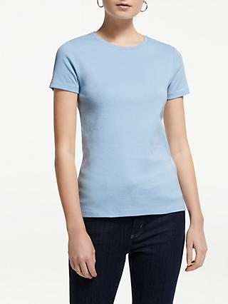 John Lewis & Partners Short Sleeve Crew Neck T-Shirt