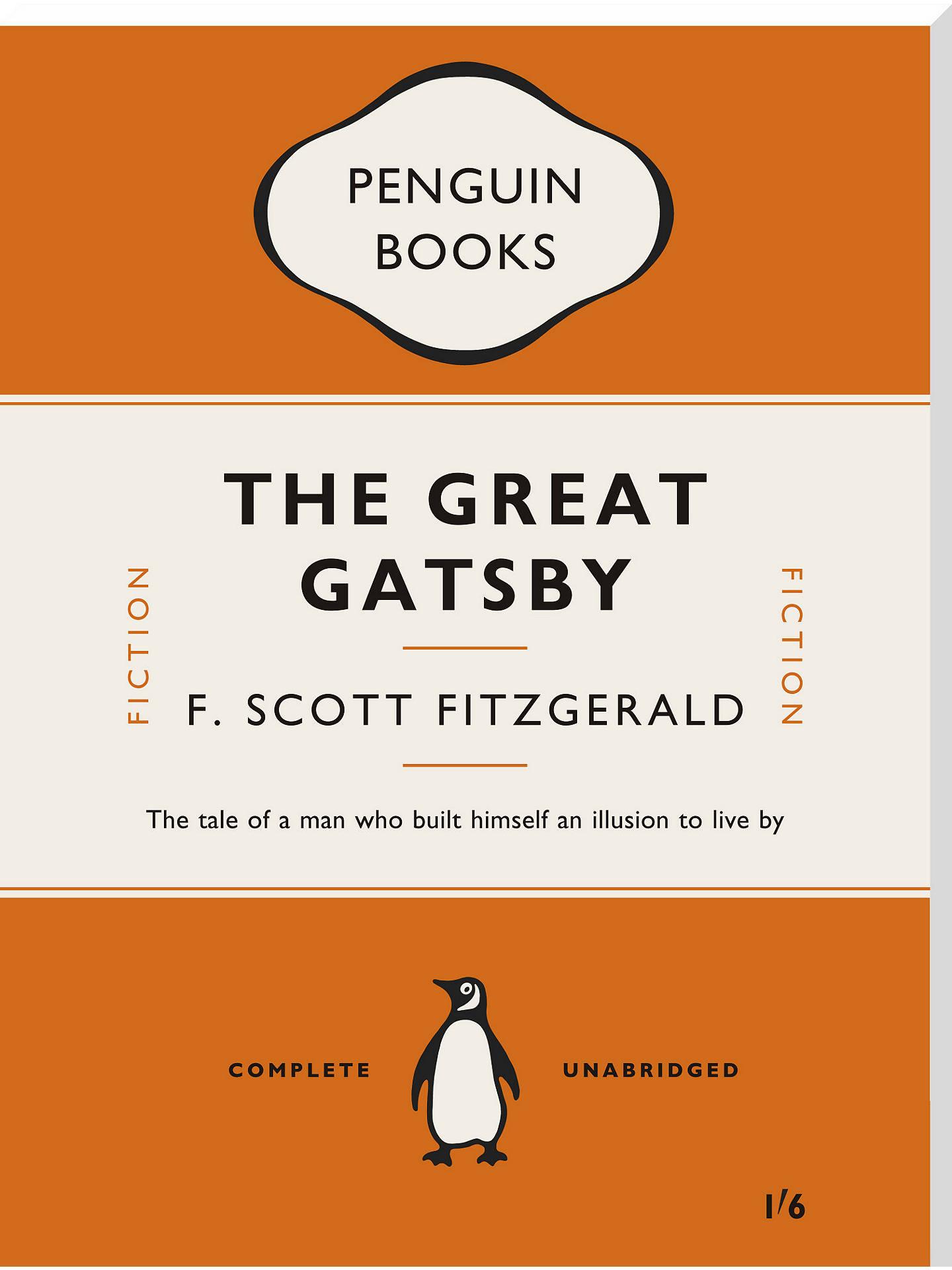 Penguin Books - F Scott Fitzgerald The Great Gatsby at John Lewis & Partners