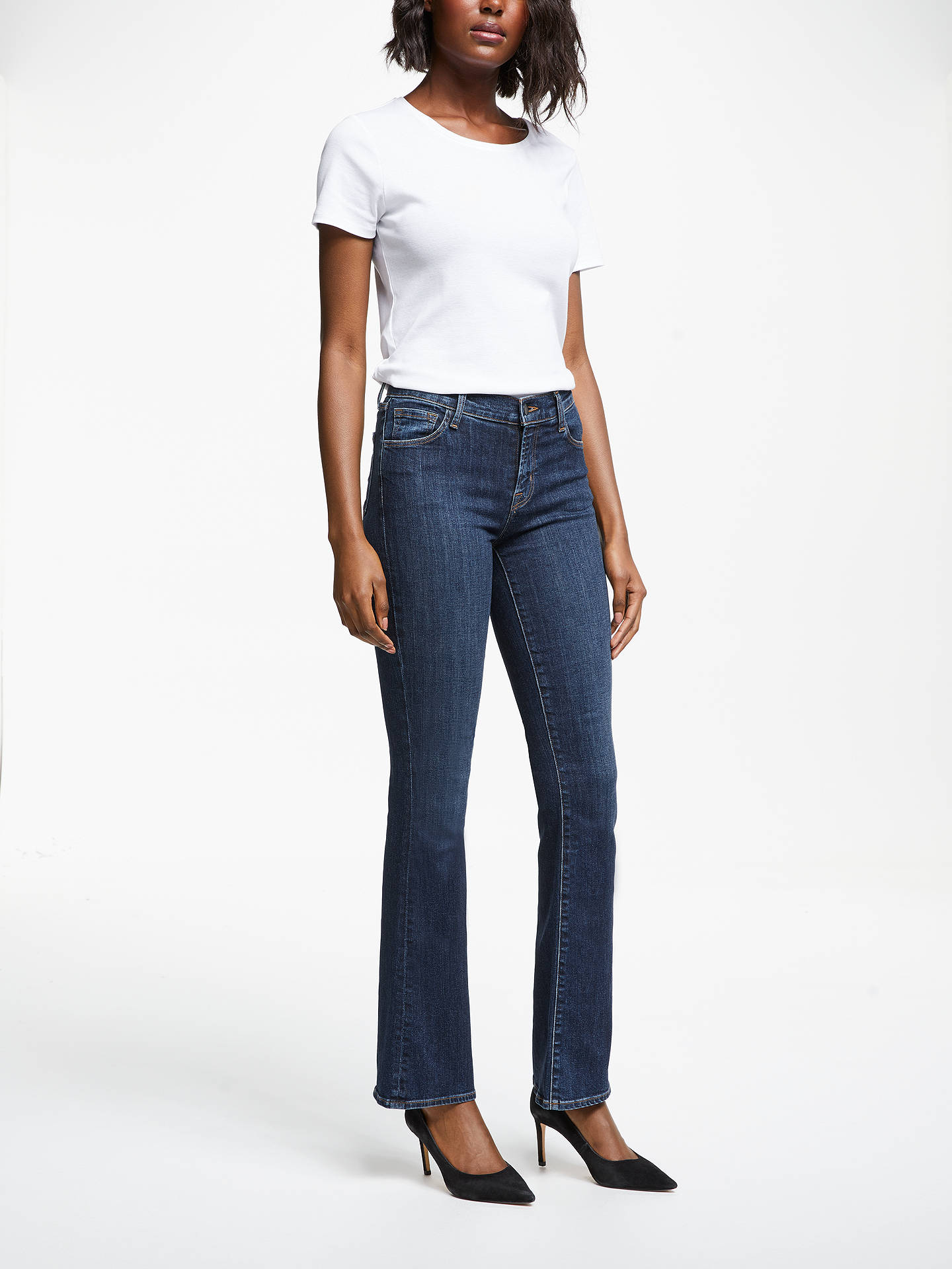 J Brand Jeans Womens Sallie Mid Rise Boot Cut