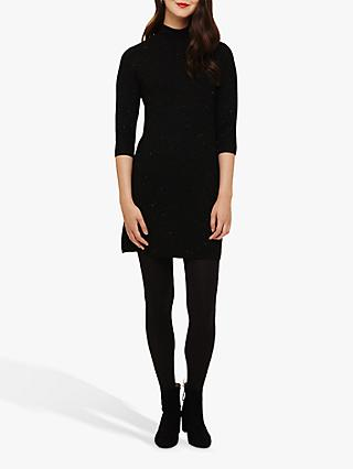 Phase Eight Shayla Tunic Dress, Black