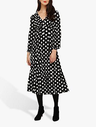 f42bc96d67749 Phase Eight Siana Spot Dress