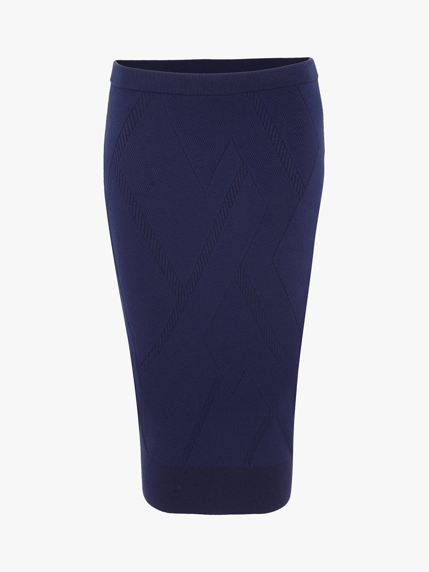a53d85d07826 ... Buy Phase Eight Georgina Grid Skirt, Ink, 16 Online at johnlewis.com ...