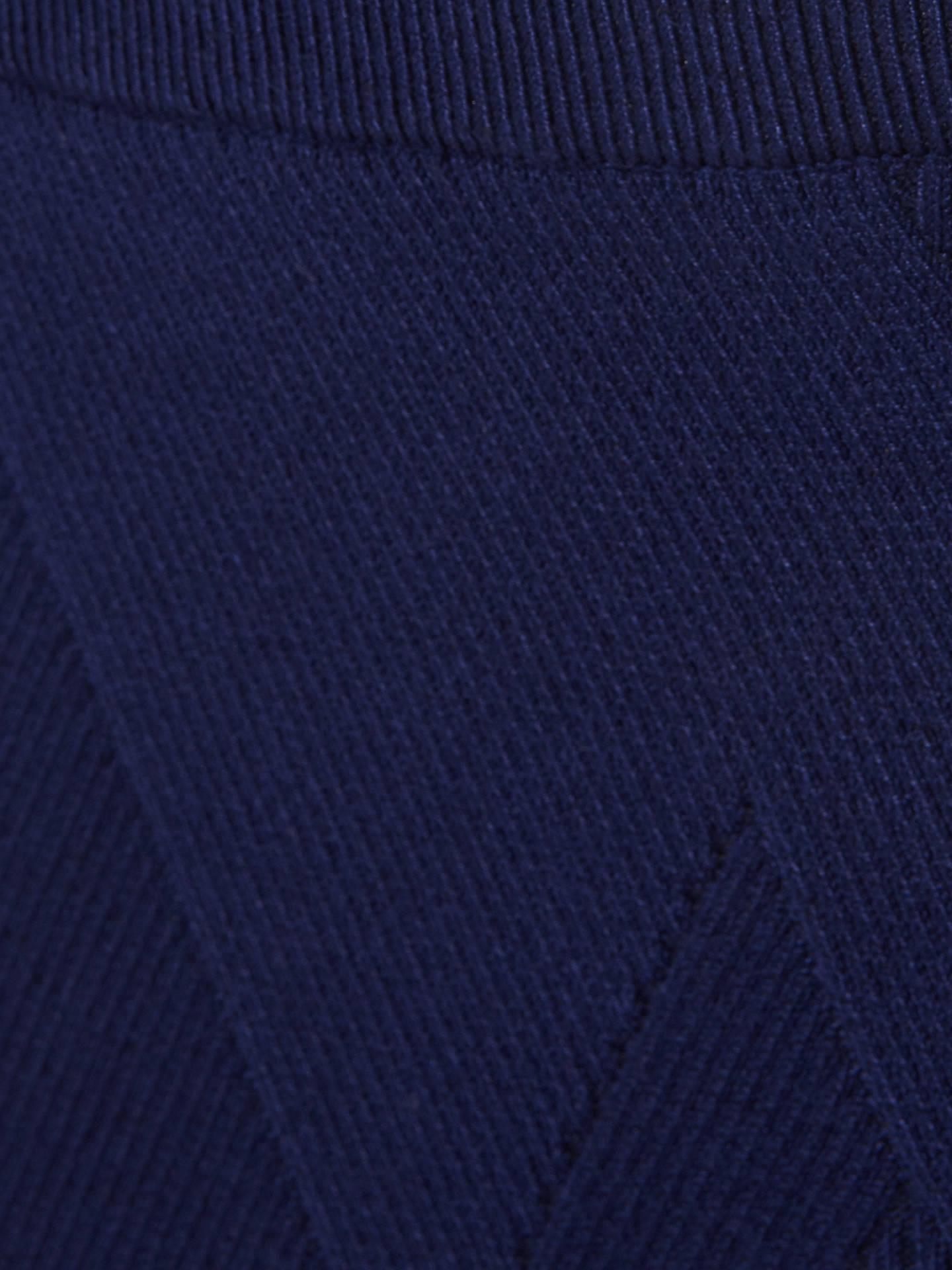 ec3224828767 ... Buy Phase Eight Georgina Grid Skirt, Ink, 16 Online at johnlewis.com
