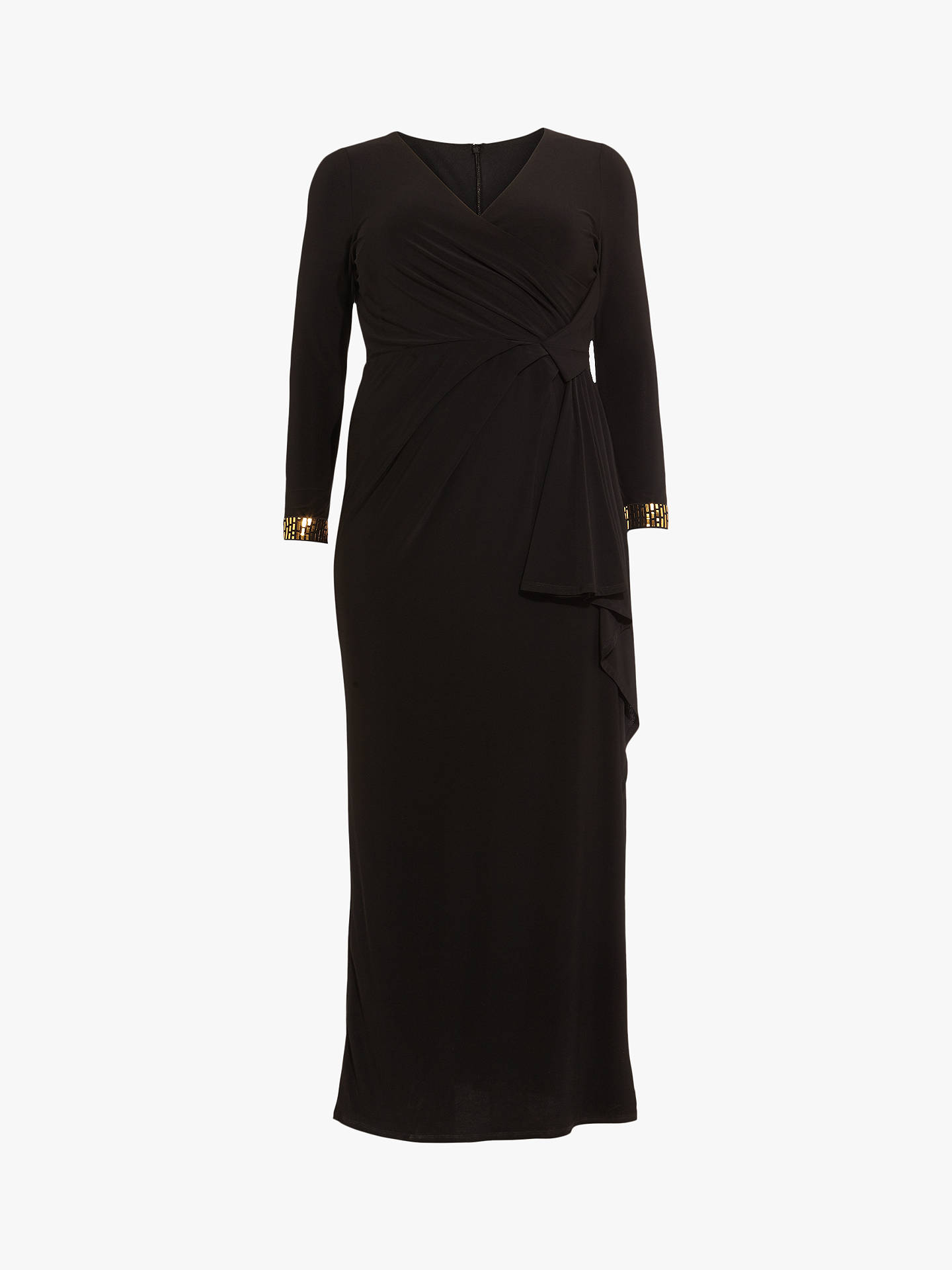 Buy Studio 8 Julianna Maxi Dress, Black, 14 Online at johnlewis.com