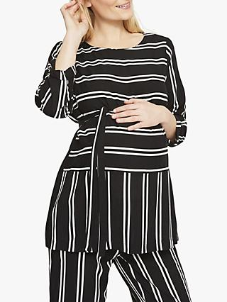 04e40a1d80 Mamalicious Ebony 3/4 Sleeve Maternity Blouse, Salute