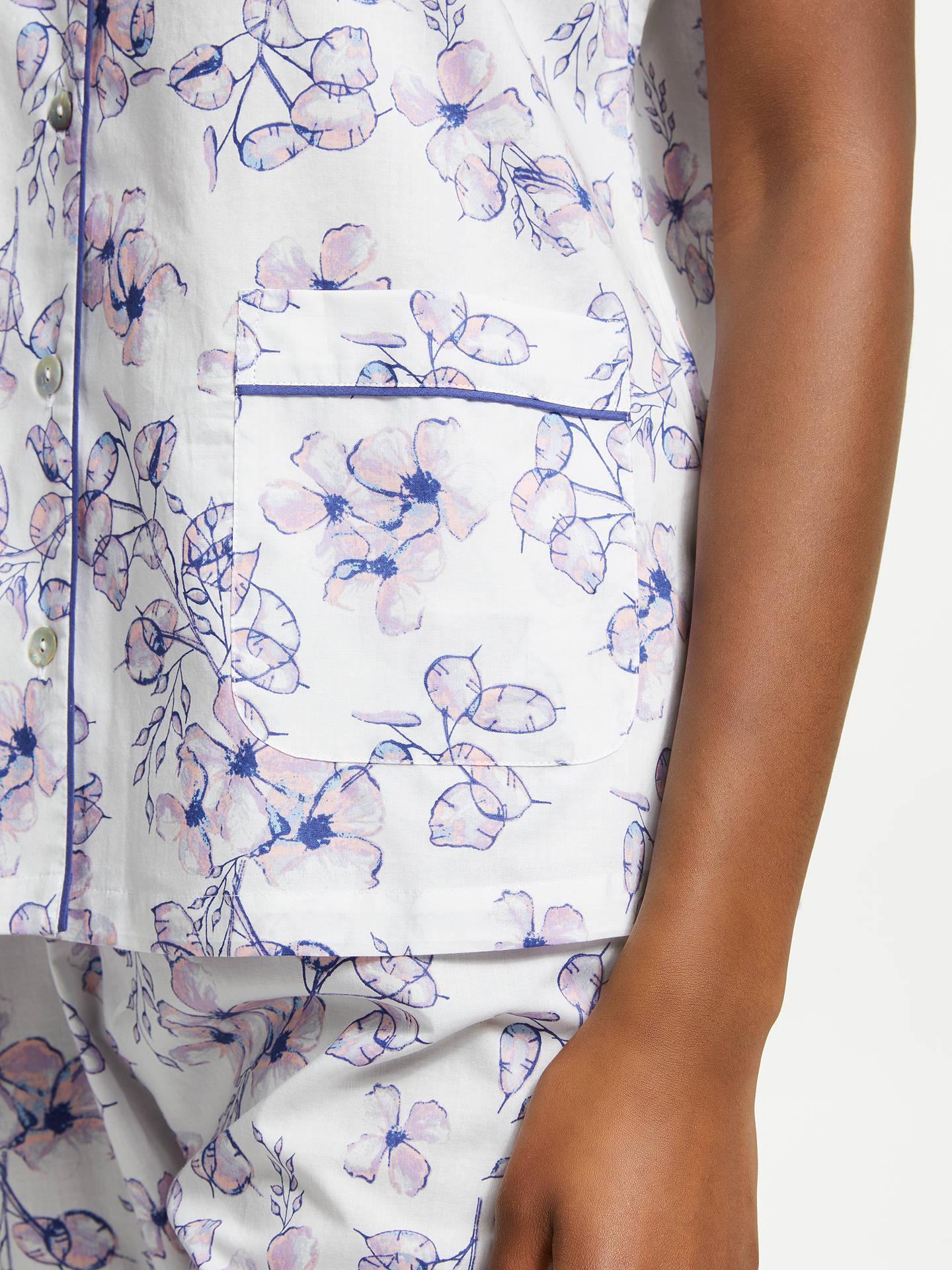 a43f4d0b8d3 ... Buy John Lewis   Partners Honesty Floral Print Cotton Pyjama Set