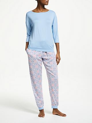 2ffbf8ccee John Lewis   Partners Isadora Geo Print Jersey Pyjama Set