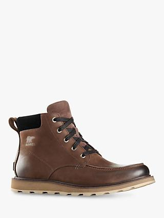 SOREL Madson Waterproof Moc Toe Boots, Bruno