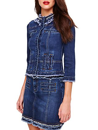 Damsel in a Dress Jorja Denim Jacket, Blue