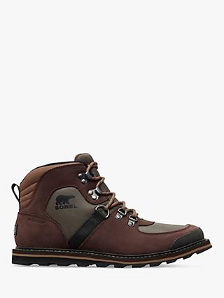 SOREL Madson Sport Waterproof Moc Toe Boots, Mud