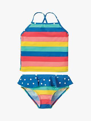 f5fe9693c4ecd Frugi Children s Trevose Rainbow Stripe Tankini