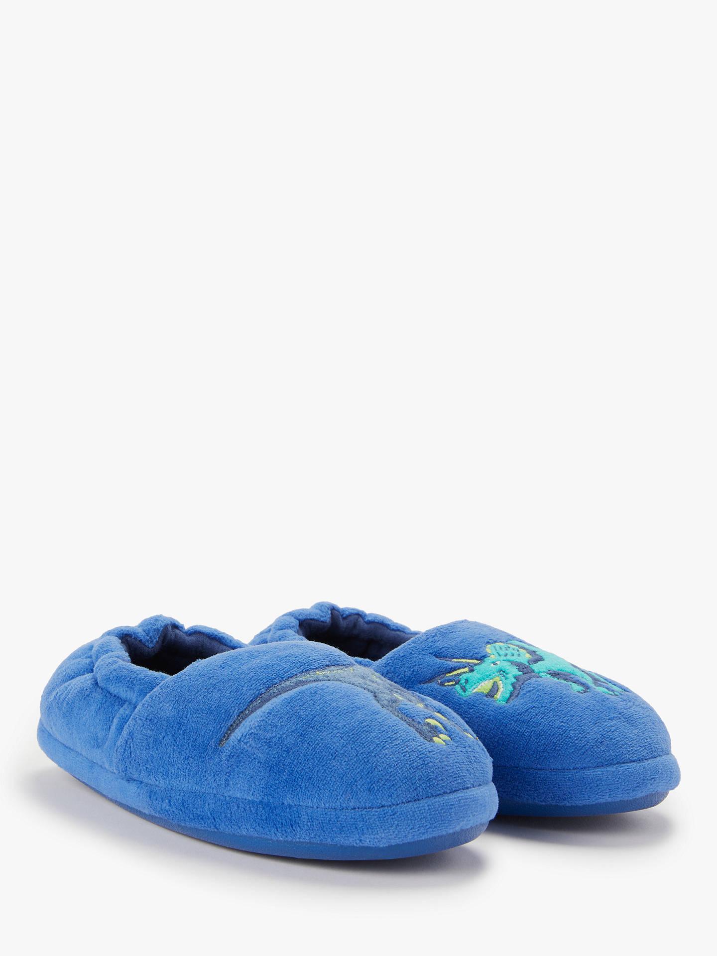 8e5b654a4f1 ... Buy John Lewis   Partners Children s Dinosaur Slippers