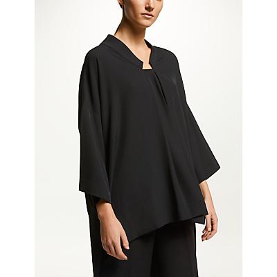 Kin Oversized Kimono Top, Black