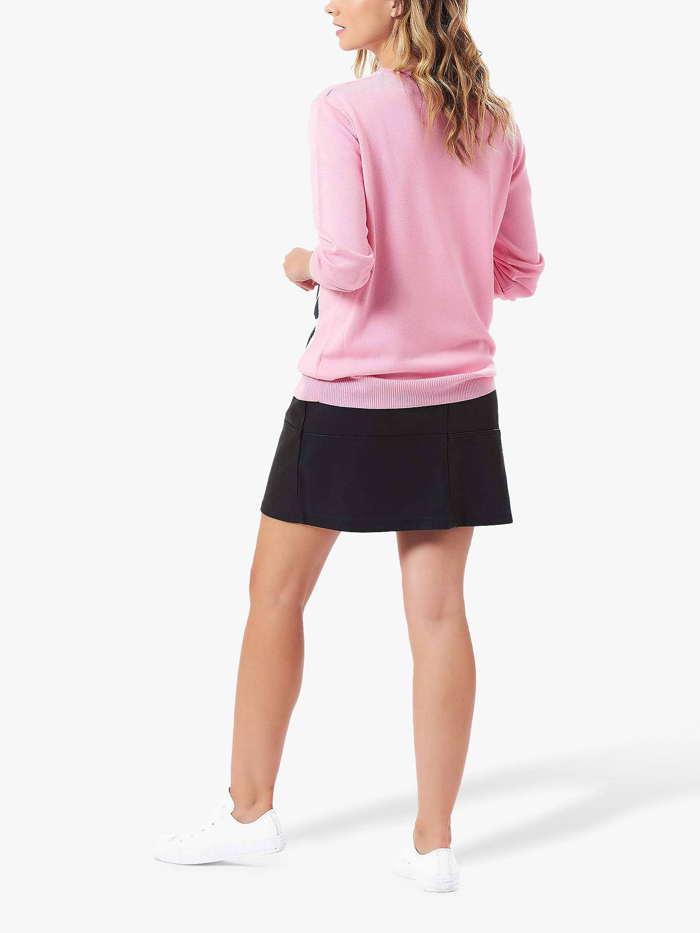 Buy Sugarhill Brighton Rita French Bulldog Knitted Jumper, Pink, 8 Online at johnlewis.com
