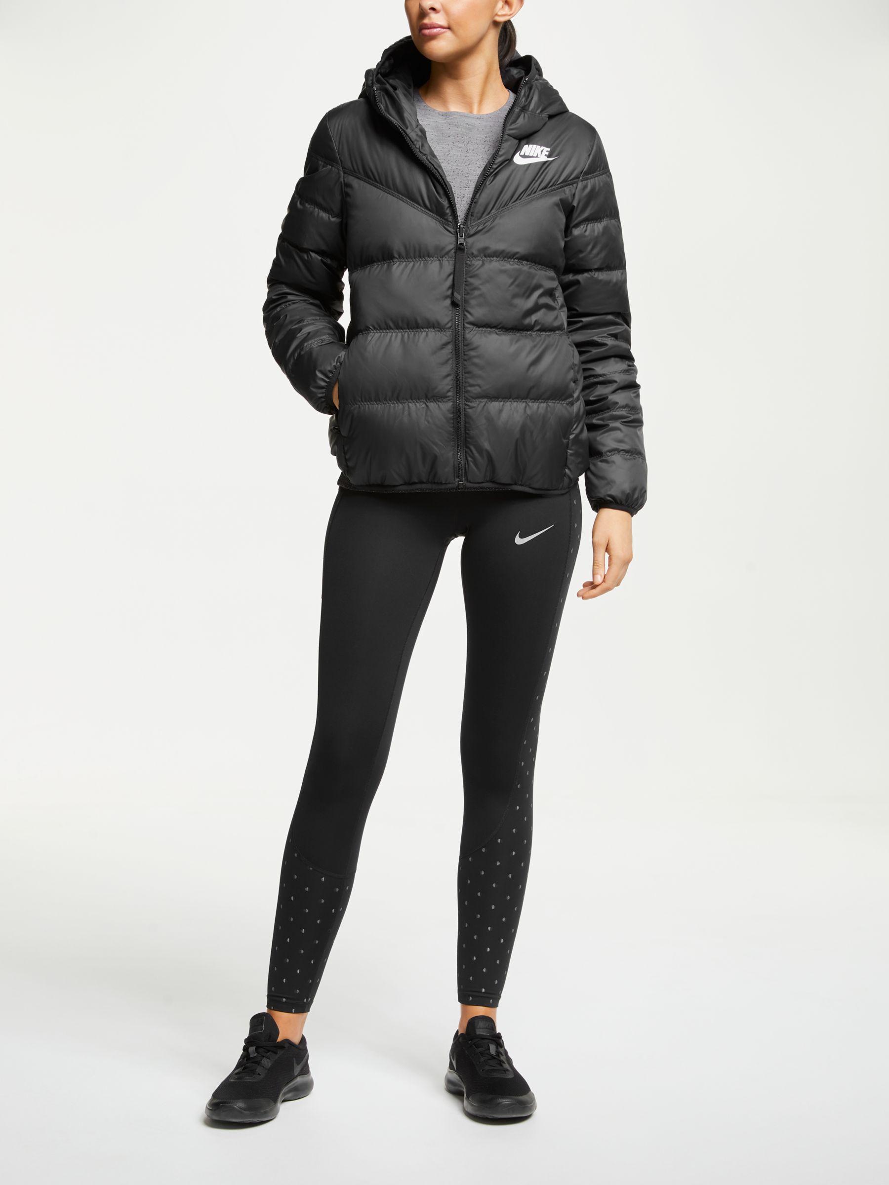 women's reversible down fill jacket nike sportswear windrunner