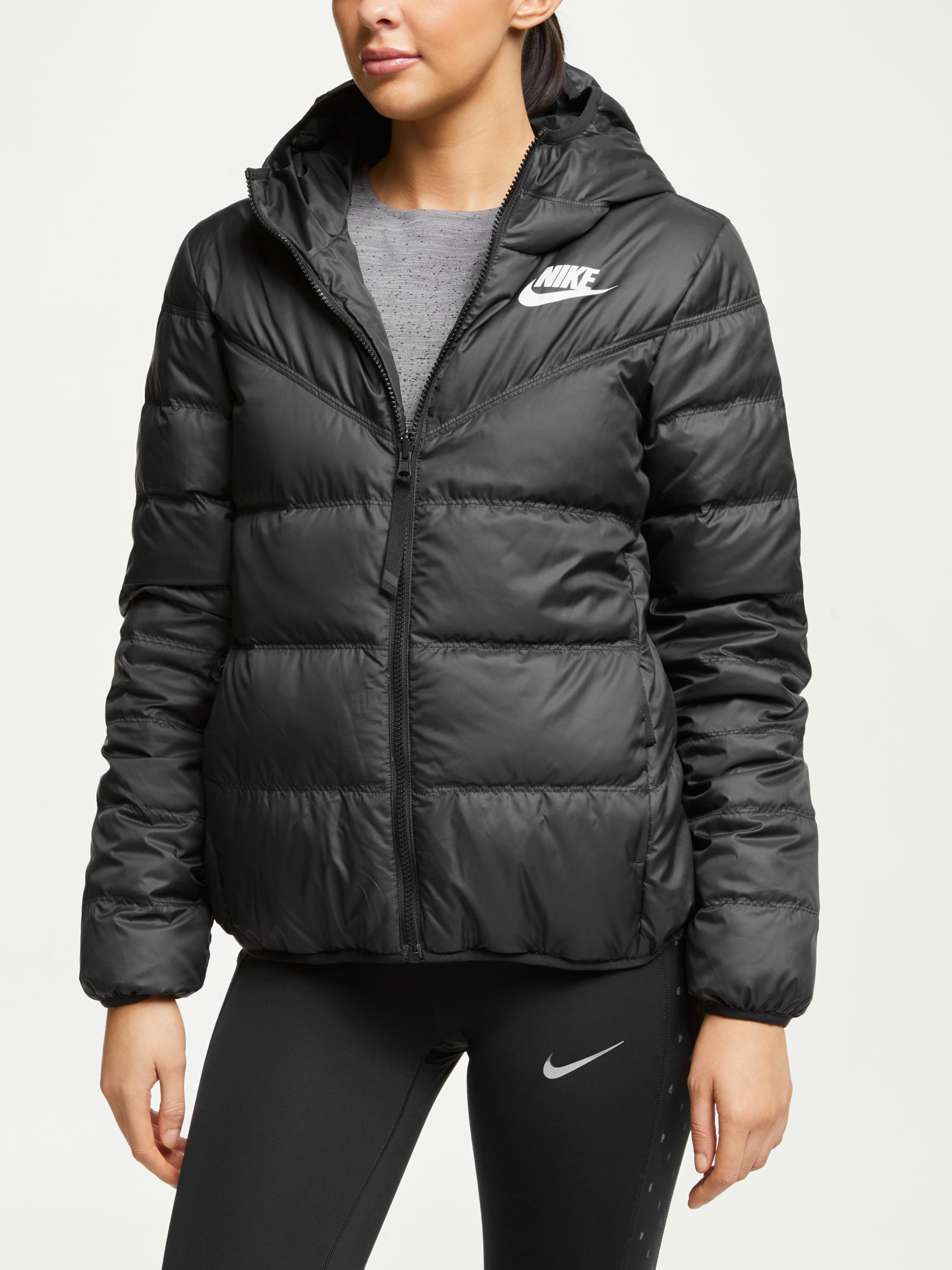 women's reversible down fill jacket