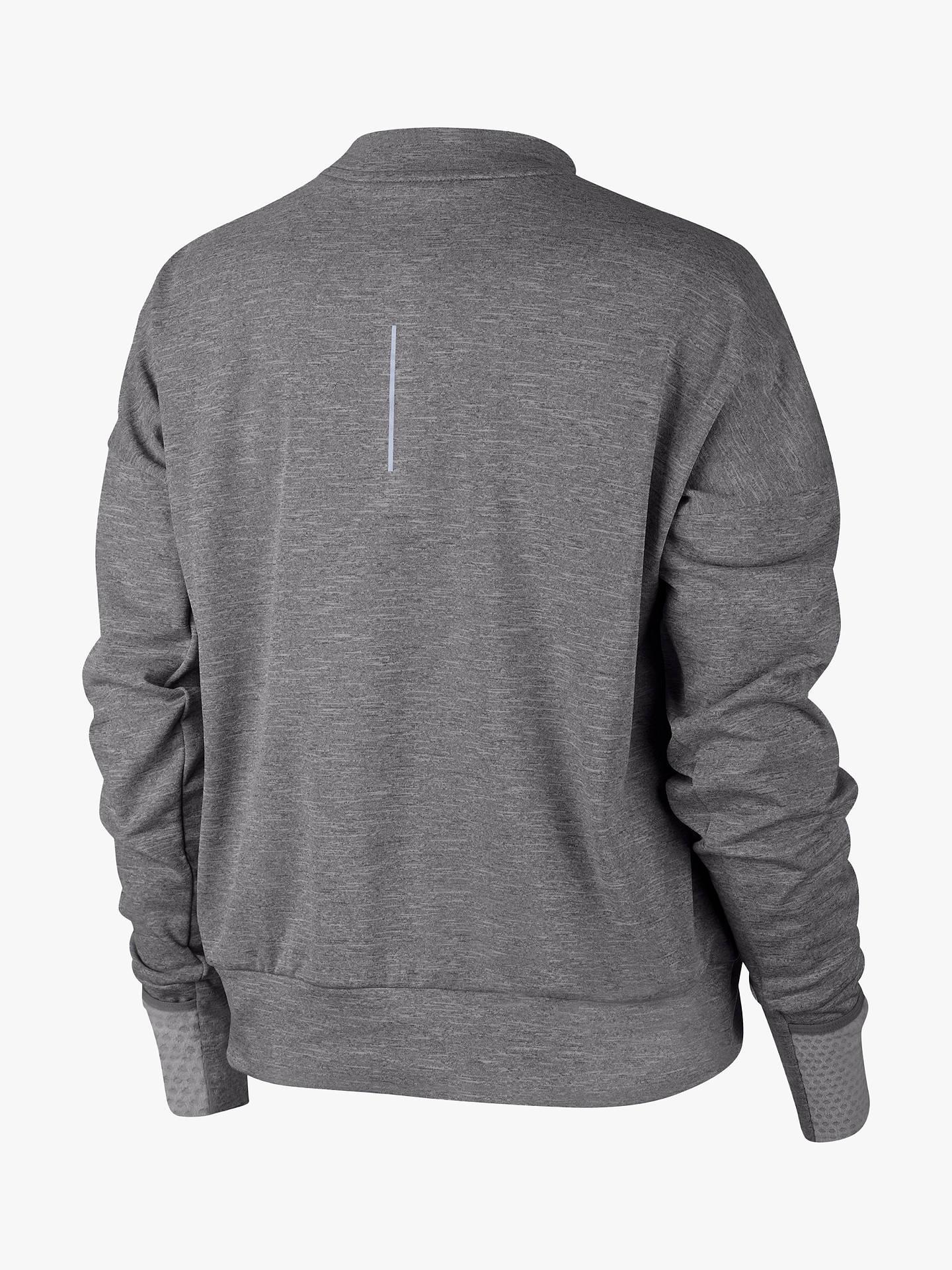 f35b530f ... Buy Nike Therma Sphere Element Running Top, Gunsmoke, S Online at  johnlewis.com