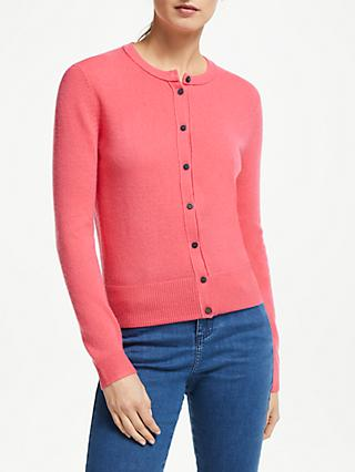 Collection WEEKEND by John Lewis Cashmere Cardigan, Pink