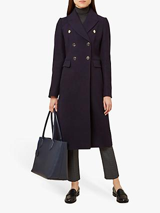 Hobbs Gigi Mac Trench Coat, French Navy
