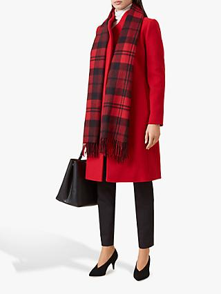 Hobbs Romy Coat, Deep Red