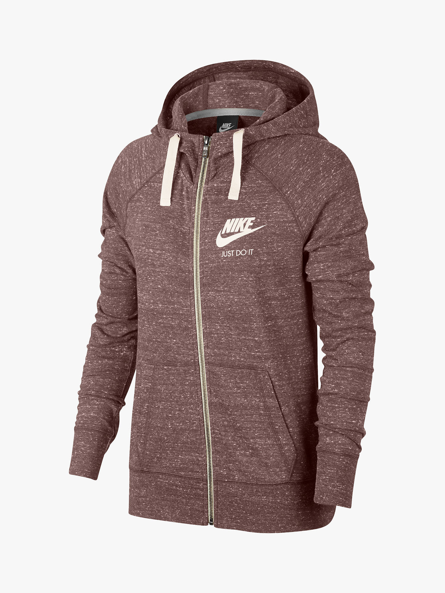 low priced 903a2 16999 Nike Sportswear Vintage Hoodie, Smokey Mauve/Sail at John ...