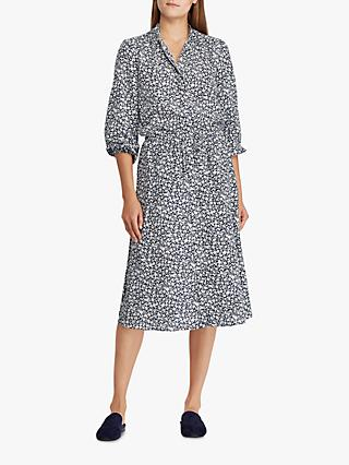 Polo Ralph Lauren Alixandra Floral Print Shirt Dress, Multi