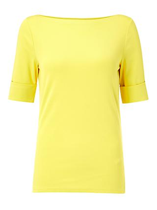 Ralph Lauren Judy Jersey Top, Regatta Yellow