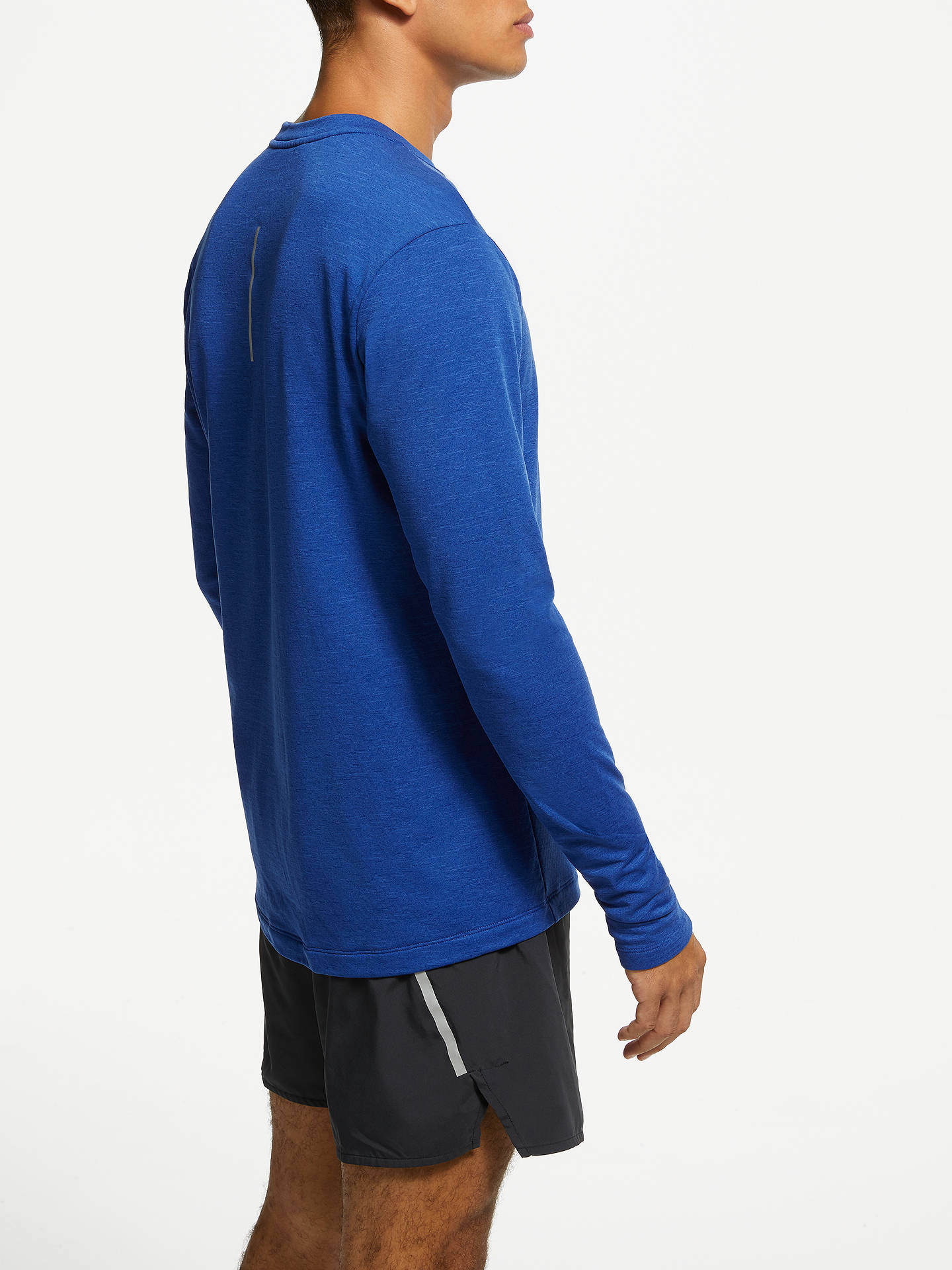 76f771f2 ... Buy Nike Therma Sphere Element 2.0 Long Sleeve Running Top, Blue Void,  S Online