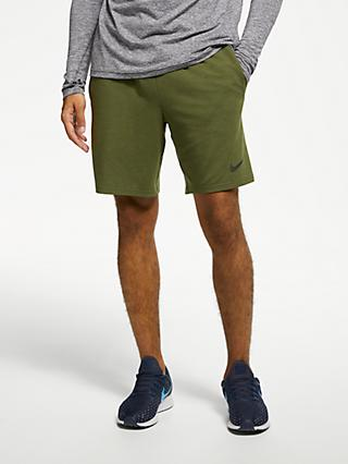 Nike Dry Training Shorts, Olive Canvas/Black