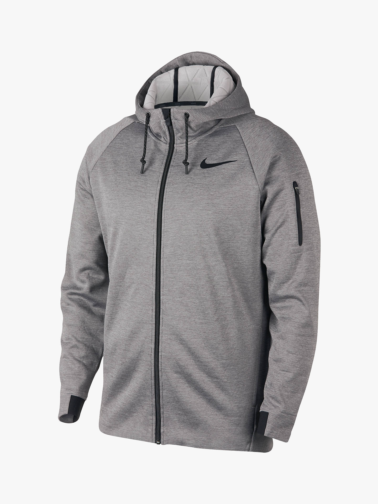 415e9f97c6 Nike Therma Sphere Hooded Full Zip Training Jacket at John Lewis ...
