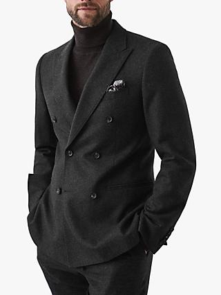 Reiss Sutton Slim Fit Suit Jacket, Grey