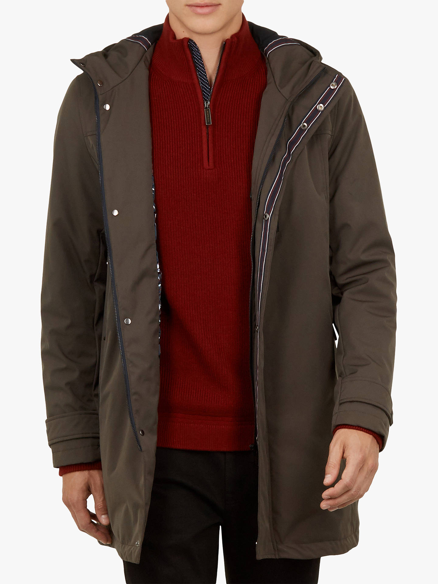 cc175e68a16559 Buy Ted Baker Rockfrt Quilted Hooded Parka Coat