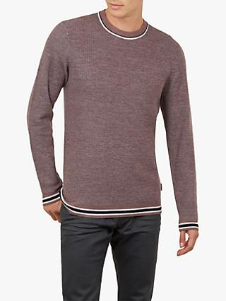 Ted Baker Curlywu Long Sleeve Textured Jumper