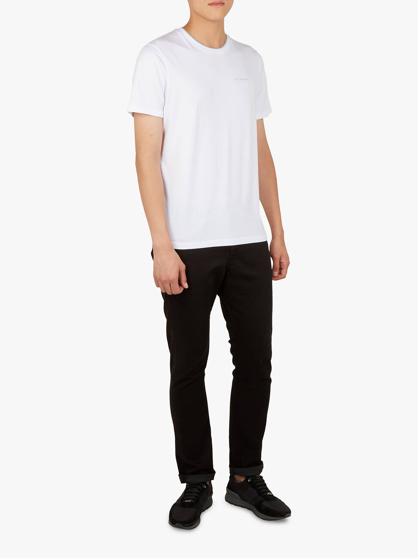 Buy Ted Baker Rooma Short Sleeve T-Shirt, White, XXL Online at johnlewis.com