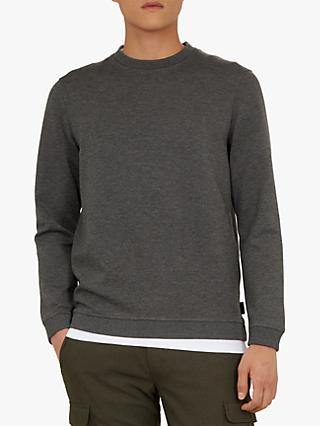 Ted Baker Wall Sweatshirt, Grey Charcoal