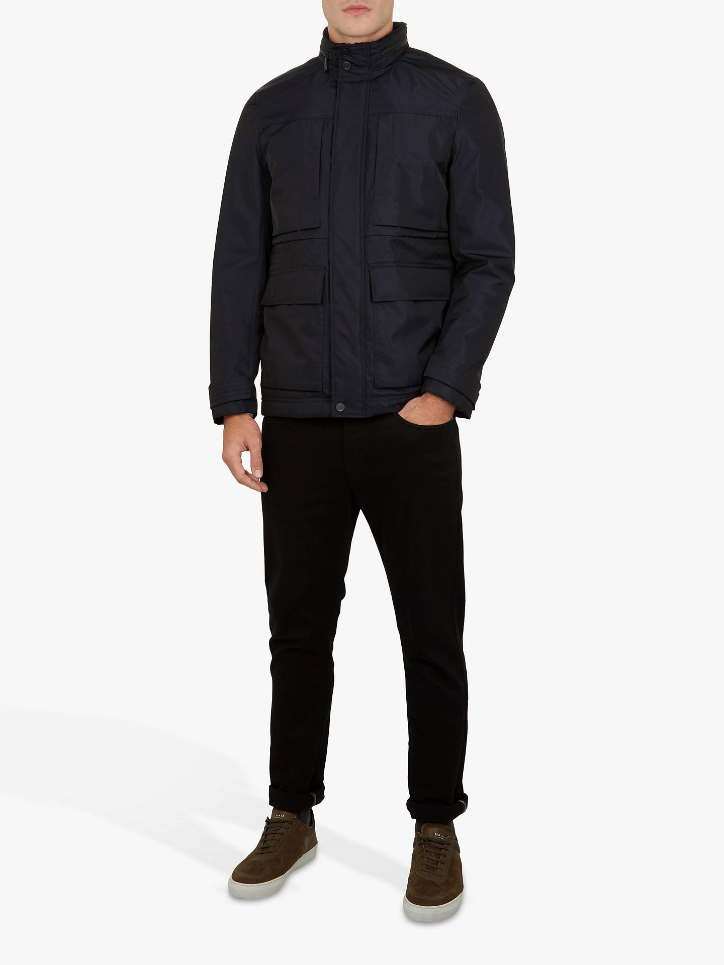 Buy Ted Baker Oka Field Jacket, Navy, XXXL Online at johnlewis.com
