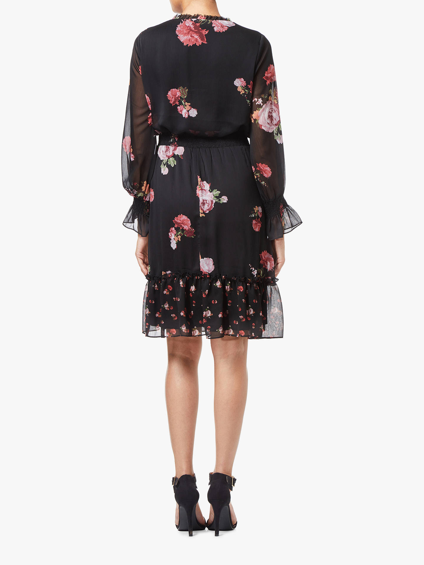 BuyAdrianna Papell Loving Boho Floral Print Dress, Multi, 12 Online at johnlewis.com