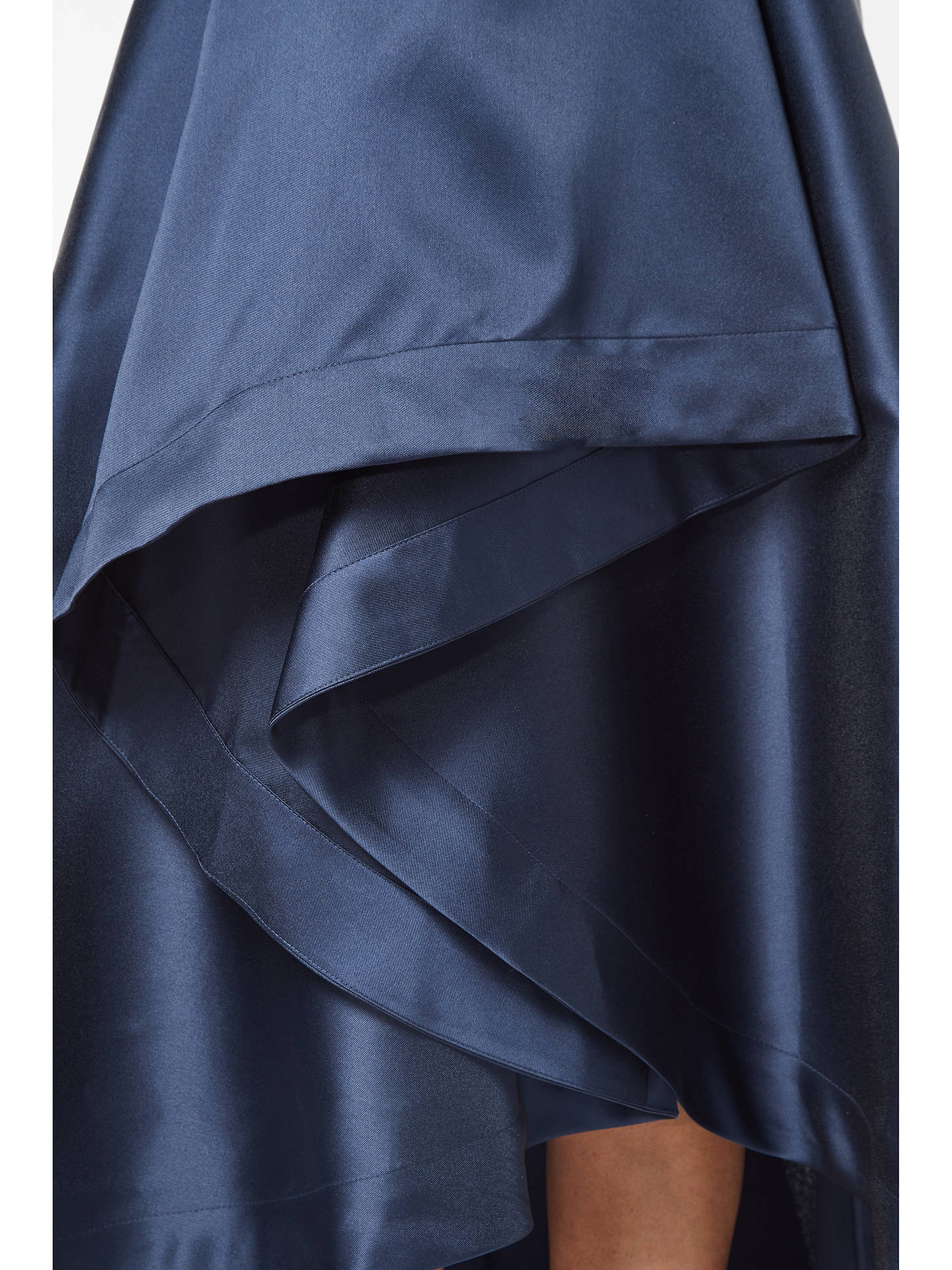 Buy Adrianna Papell Petite Mikado A-Line Tafetta Dress, Midnight, 6 Online at johnlewis.com