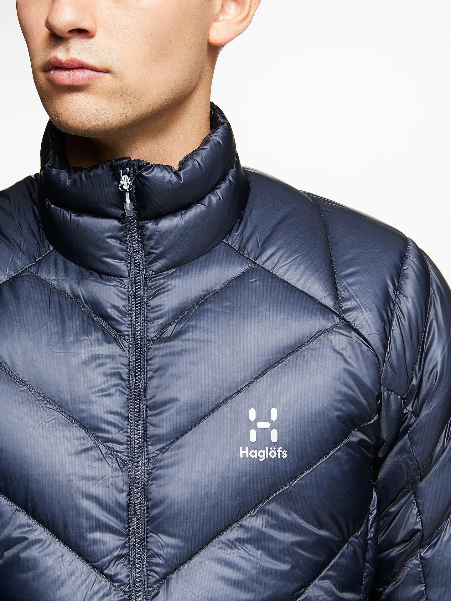 df37c5eb Buy Haglöfs L.I.M Essens Men's Insulated Jacket, Tarn Blue, S Online at  johnlewis.