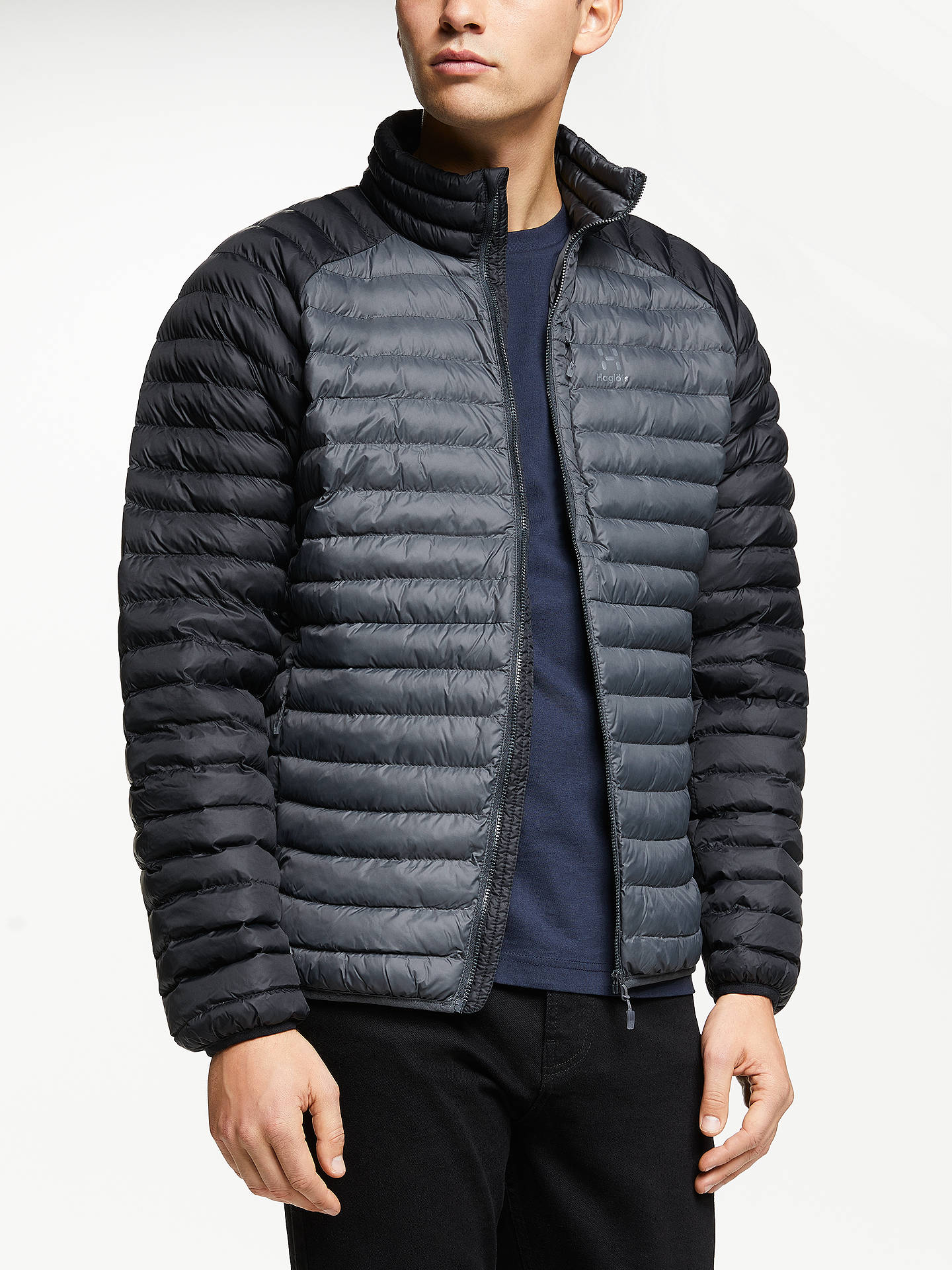 4a568d840cf Buy Haglöfs Essens Mimic Men's Insulated Quilted Jacket, Magnetite/True  Black, XL Online ...
